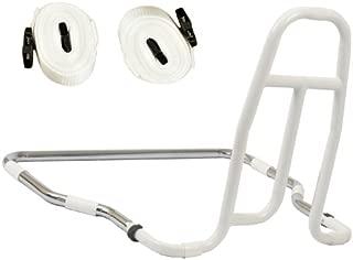 NRS Healthcare M76333 - Asidero-barandilla para cama, fácil de instalar, con correas