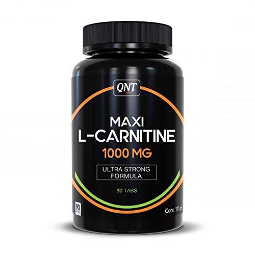 Qnt Maxi L-Carnitine 1000mg, Unflavored, 0.117 kg