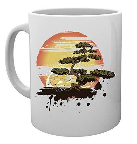 Bonsai Baum Karate Dojo Kaffeebecher Tassen Mug Cup