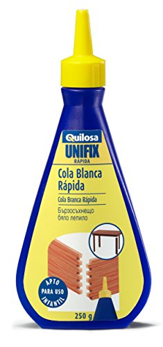 Quilosa T088211 Cola blanca Unifix Rapida, 250 gr