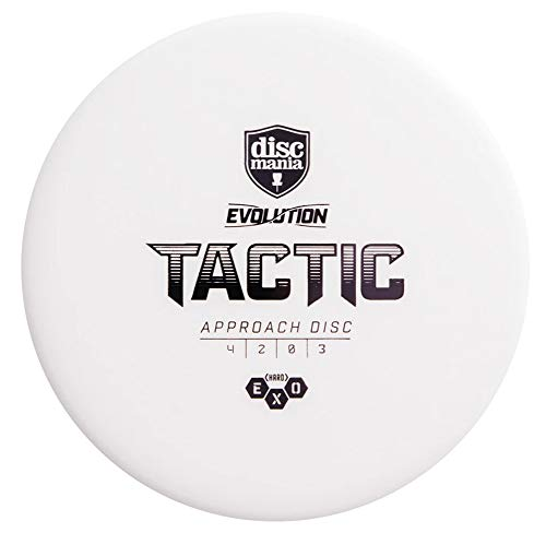Discmania Evolution Exo Hard Tactic Putter Golf Disc (Colors May Vary) - 173-176g