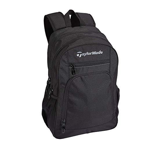 TaylorMade Unisex TM20PerformanceBackpackBlack Rucksack, Schwarz, Einheitsgröße