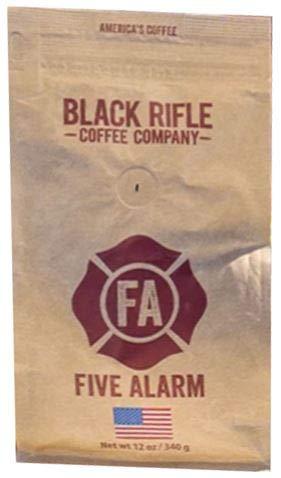 Black Rifle Coffee Company Five Alarm Medium Roast Ground Coffee - 12oz Bag