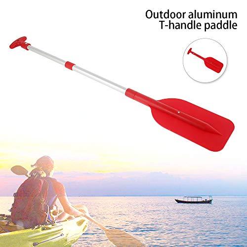 everso Kayak Paddel,Kayak Paddel Aluminium Abnehmbar,Boat Oars Paddel Länge ca. 106 cm zerlegbar auf kompakte 54cm,Doppelpaddel für Kanu Schlauchboote Gummiboot Luftmatratzen