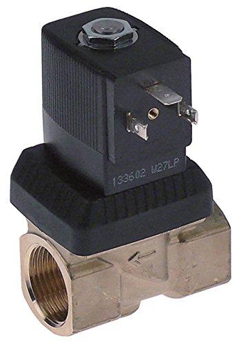 BÜRKERT Serie 6213 Magnetventil Messing 230V 2-Wege Eingang 3/4' Ausgang 3/4' DN 13 Anschluss 3/4' 6213 10bar EPDM Serie 6.213