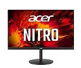 Acer Nitro XV252QF Gaming Monitor da 24,5' (schermo da 62 cm), Full HD, 390 Hz, OC DP, 360 Hz, DP, 240 Hz, HDMI, 1 ms (G2G), 2 x HDMI 2.0, DP 1.4, girevole, HDMI/DP FreeSync Premium
