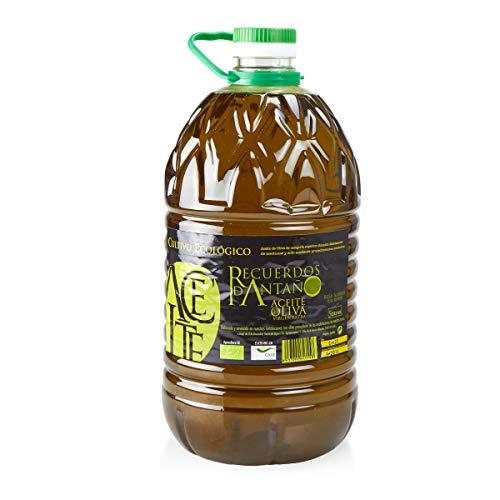 Aceite de Oliva Virgen Extra Ecológico de Elche de la Sierra - 5 litros - Recuerdos de Antaño