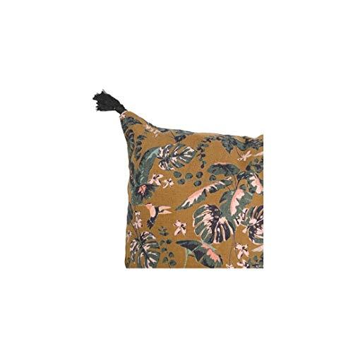 ZH ZocoHome Linen Pillow | Hummingbird 45x45cm