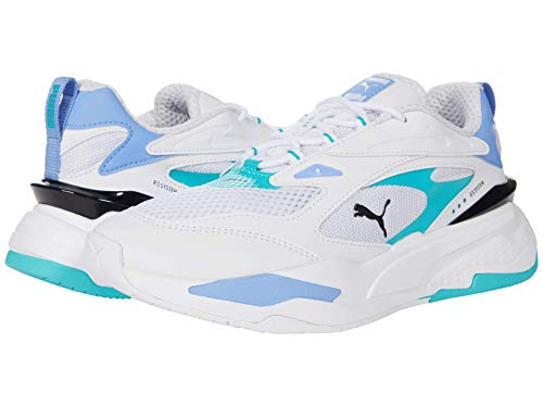 PUMA RS-Fast Pop Puma White/Elektro Pool/Elektro Purple 11 B (M)