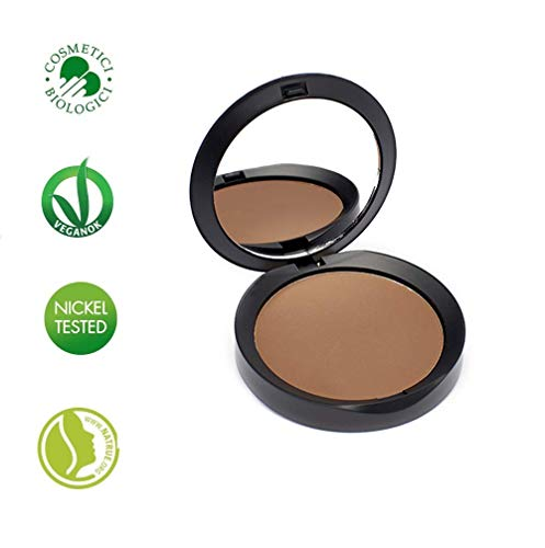 PuroBIO Certified Organic RESPLENDENT Intense and Long-Lasting Bronzer and Contouring Powder 05 WARM...
