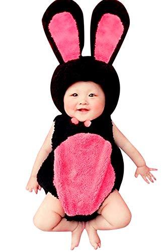 Inception Pro Infinite Costume coniglietta - neonata 3 - 12 mesi - Vestito - Carnevale - caldissimo - pile - idea regalo originale natale compleanno