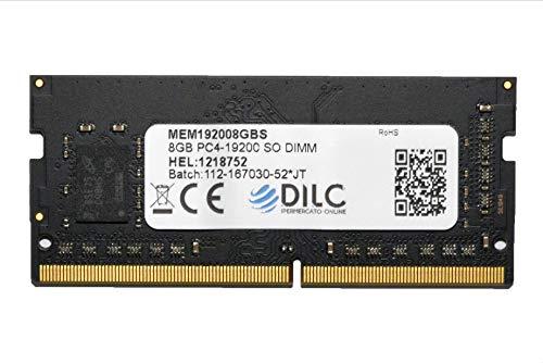 DILC - Memoria RAM DDR4 de 8 GB y 2400 MHz, PC4-19200 (260 pines)