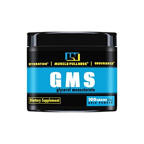 LiveLong Nutrition Glycerol Monostearate (100 Servings)