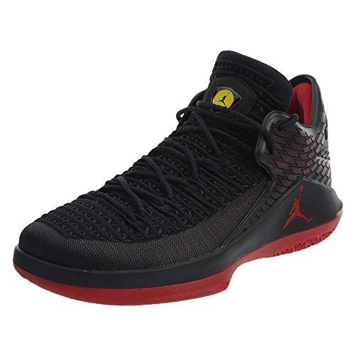 Nike Air Jordan Xxxii Low, Zapatos de Baloncesto Hombre, Negro (Black/Gym Red/Tour Yellow 003), 40.5 EU