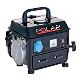 generatore di corrente 2t 220v. potenza 07/08 kw 1 presa 220v. + 12v. avviamento manuale. capacita serbatoio lt.4.2 2hp dim.38.5 x 33 x 33 miscela 2% polar articolo 67104l vinco