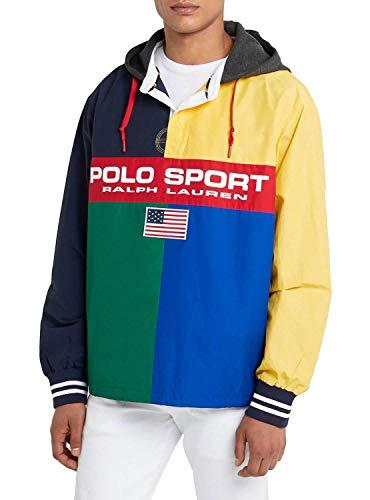 Polo Ralph Lauren Rugby Jacke Herren, Mehrfarbig Small