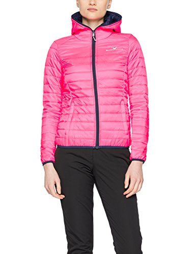 Black Crevice Damen Steppjacke Daunenoptik, pink, 36