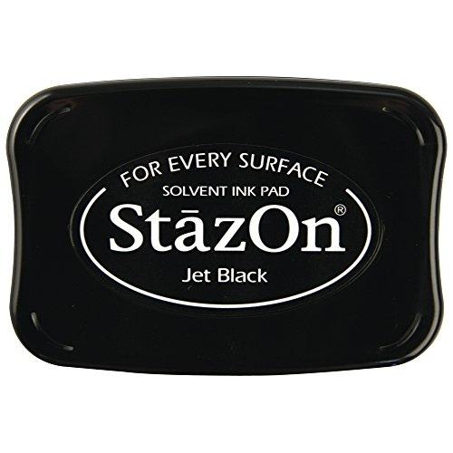 RAYHER - 28383576 - tampón de Tinta StazOn, Negro