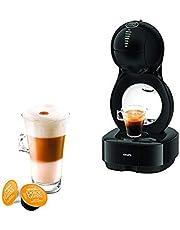 Krups Nescafé Dolce Gusto Lumio ekspres do kawy KP1308   kompaktowy ekspres do kawy   zbiornik na wodę 1 l   ciśnienie 15 bar   czarny