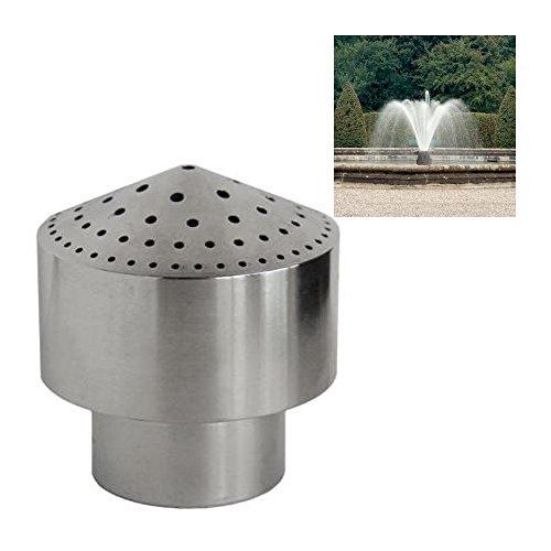 NAVADEAL DN25 1' Stainless Steel Cluster Water Fountain Nozzle Spray Pond Sprinkler Head