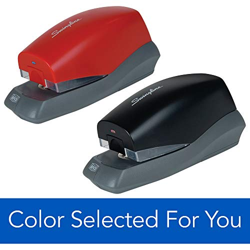 Swingline Automatic Stapler, Breeze, 20 Sheet Capacity, Battery Powered, Color Selected For You (S7042131)