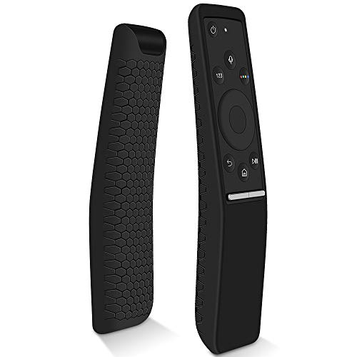 Hydream Funda Protectora Compatible con Mando de Samsung 4K UHD Smart TV, Antideslizante Silicona Carcasas para Samsung Control Remoto de BN59-01259B/BN59-01274A/BN59-01260A (Negro)