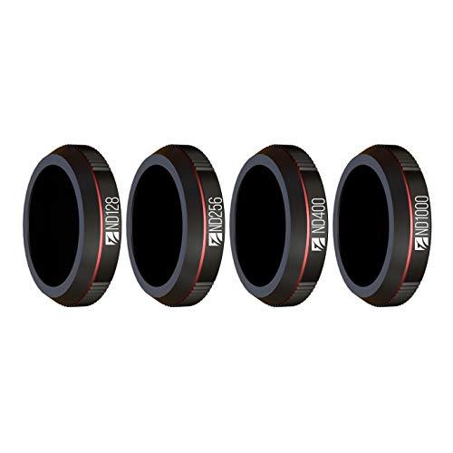 Freewell Fotografia Esposizione lunga - 4K Series - 4Pack ND128, ND256, ND400, ND1000 Filtri per Obiettivo per Fotocamera Realizzati Compatibile con Mavic 2 Zoom/Enterprise