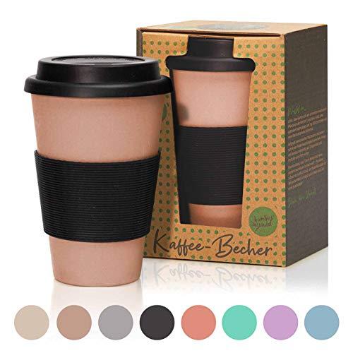2x Coffee to Go Becher 500 ml Kaffee Kaffeebecher Trinkbecher wiederverwendbar
