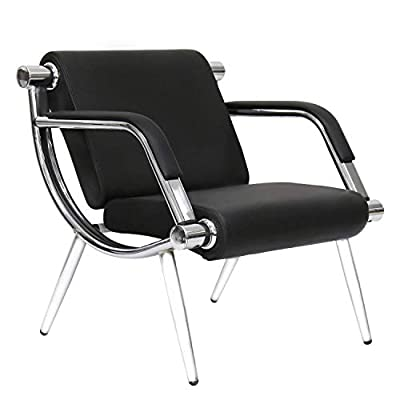 Kinbor PU Leather Executive Side Reception Chair Airport Office Reception Waiting Area Guest Chair