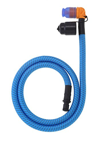 Source extérieur recouvert de Tissage Helix Tube kit (Bleu)