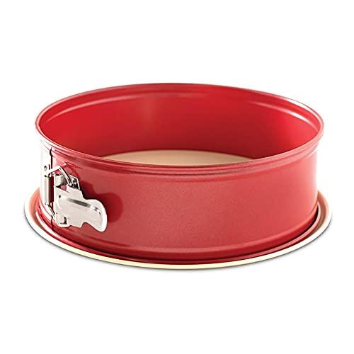 Nordic Ware Leak Proof Springform Pan, 10 Cup, Assorted Colors, 9 Inch