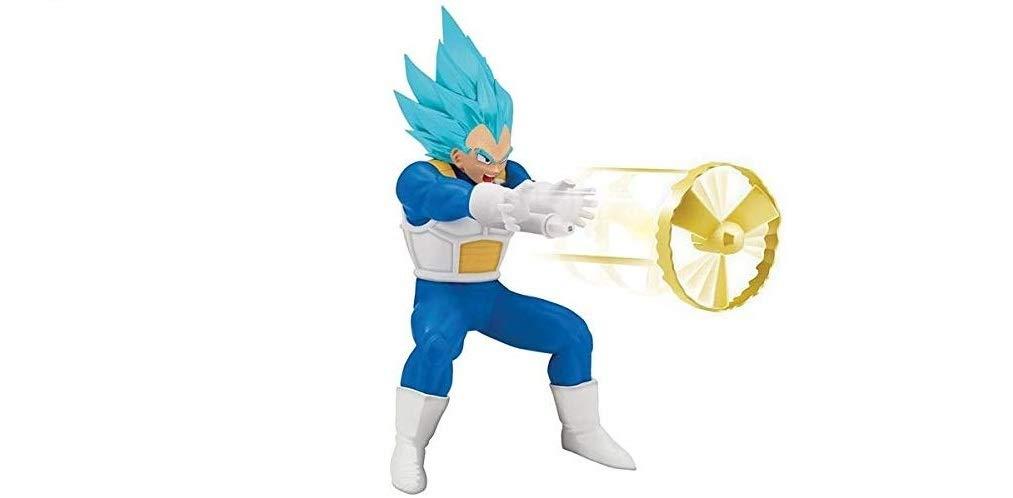 Dragon Ball Super - VEGETA SS BLUE Figura Kamehameha (Bandai 35874): Amazon.es: Juguetes y juegos