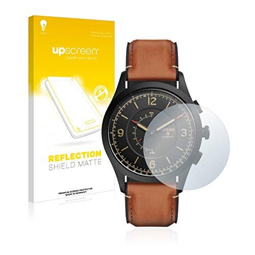 upscreen Entspiegelungs-Schutzfolie kompatibel mit Fossil Q Activist – Anti-Reflex Displayschutz-Folie Matt
