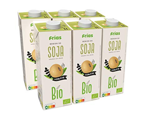 Frías - Bebida Bio de Soja con calcio caja de 6 litros