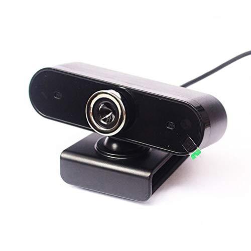 Cámara De Computadora HD Micrófono Incorporado Unidad Gratuita Cámara De Red De Video USB Negro