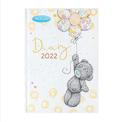 Me to You 2022 Tatty Teddy Bear A5 Classic Diary, White, XDD01003