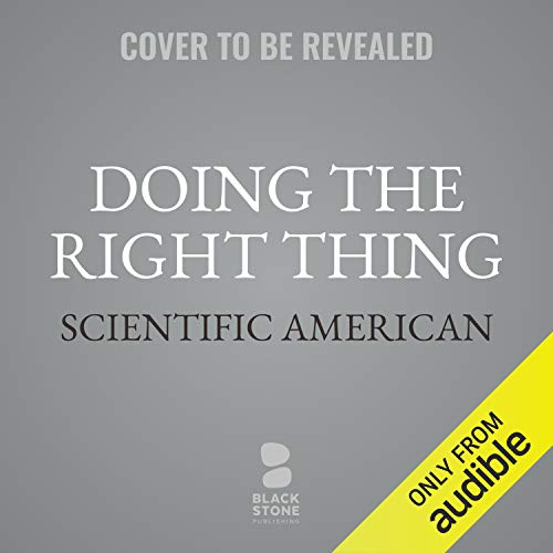 Doing the Right Thing audiobook cover art