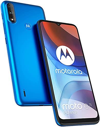 Smartphone Motorola E7i Power Tim Tahiti Blue 6.5' 2gb/32gb Dual Sim