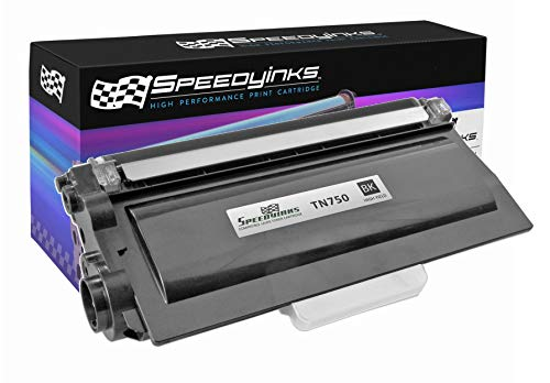 SPEEDYINKS Speedy Inks Compatible Toner Cartridge Replacement for Brother TN750 High-Yield (Black)