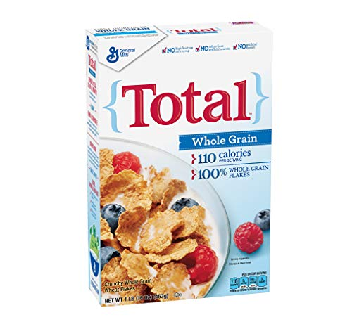 PACK OF 10  Total Cereal Whole Grain 16 oz Box