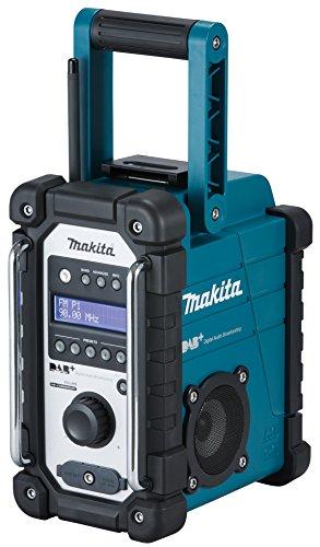 Makita DMR 110 Digital Baustellen DAB+ Radio + 1x BL 1850 18V - 5Ah Akku - ohne Ladegerät
