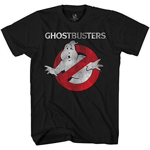 Ghostbusters Men's 1984 Movie Logo T-shirt, S to 3XL