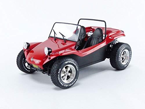 Solido 421186500 Manx Meyers Buggy, 1968, Modellauto, Maßstab 1:18, rot