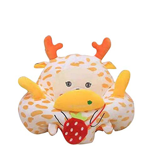 Review systematiw Cartoon Cotton Children's Chair,Animal Sweet Seats,Kids Mini Lounger Sofa, for Chi...