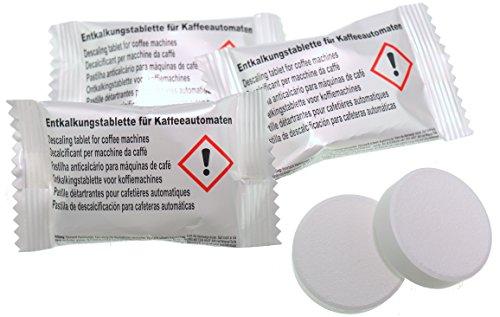 30x Entkalkungstabletten für Kaffeevollautomaten | | Universell einsetzbar| Kalklösetablette á 18g | Qualität Made in Germany