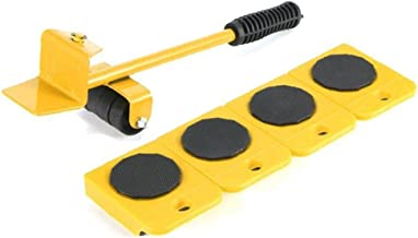 5 stks/set Gemakkelijk Meubels Lifter Mover Tool Set Meubels Slider Heavy Duty Meubelrol Verplaats tot 150 Kg/350 LBS Gesc...