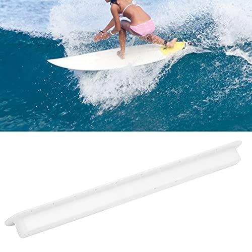 SHYEKYO Surco del timón de la Tabla de Surf, Surco del timón de la Tabla de Surf Durable para Surfear para Tablas de Surf(White)