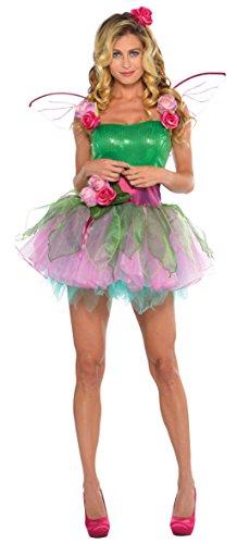 Joker 997732/33-M - Fata Dei Boschi Donna Costume di Carnevale in Busta, Verde e Rosa