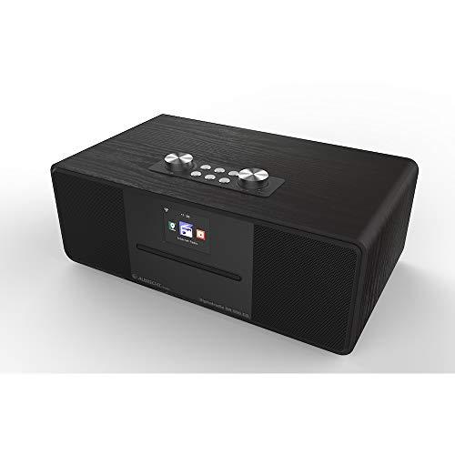 Albrecht DR 690 CD Hybridradio, Internet/Digital (DAB+)/UKW Radio mit CD Player inkl. Bluetooth