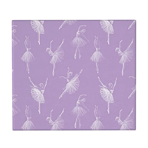 Ballerinas - Alfombrilla de secado para mostrador de cocina, antideslizante, superabsorbente, para el hogar, soporte para platos, 46 x 41 cm